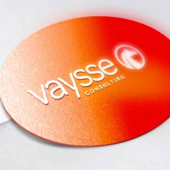 Desenvolvimento de marca para Vaysse Consultoria