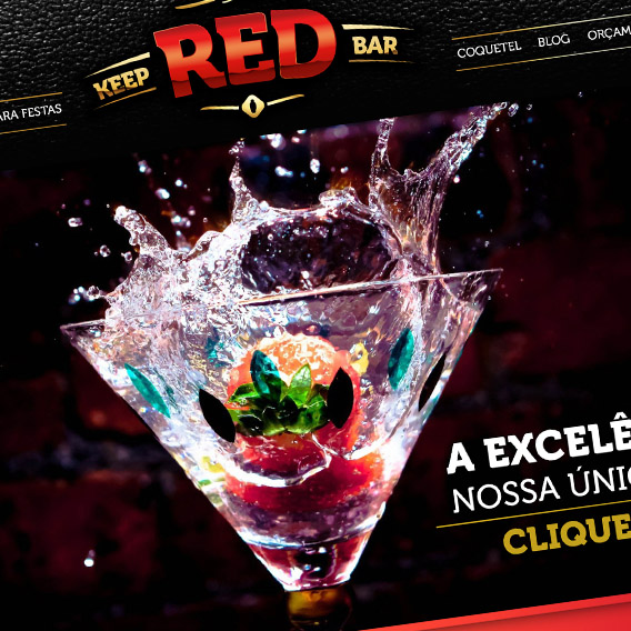 Identidade Visual da Keep Red Bar
